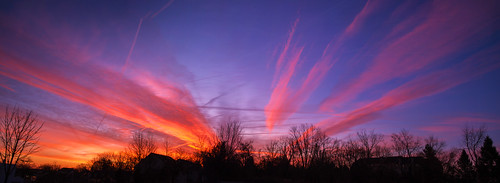 morning sky panorama clouds sunrise pennsylvania