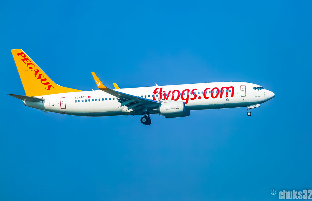TC-AEP - B738 - Pegasus Airlines
