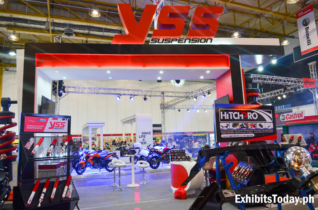 YSS Suspension Tradeshow Booth