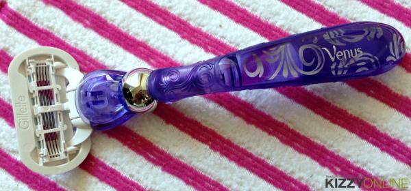 Gillette Venus Swirl razor Violet Shave Gel #NewVenusSwirl
