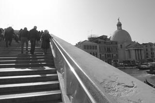 Venice - Ponte Degli Scalzi stairs