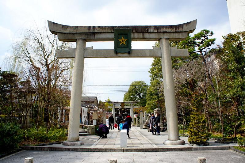 一の鳥居/晴明神社(Seimei-jinja Shrine / Kyoto City) 2015/03/12 04747