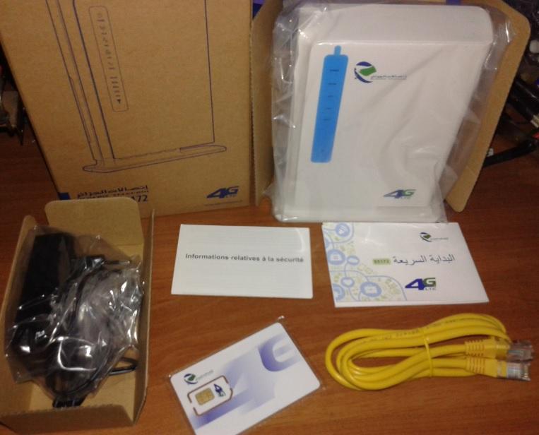 flash modem 4g algerie telecom startimes