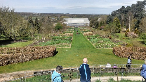 Down the prairie borders to the Glasshouse