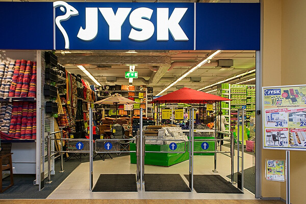 Danish retailer JYSK has more than 2,200 stores around the world