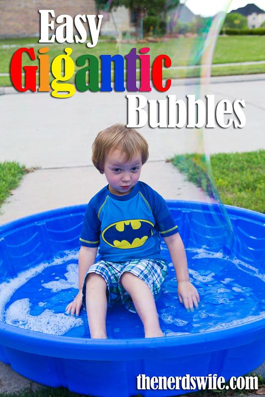 Easy Gigantic Bubbles