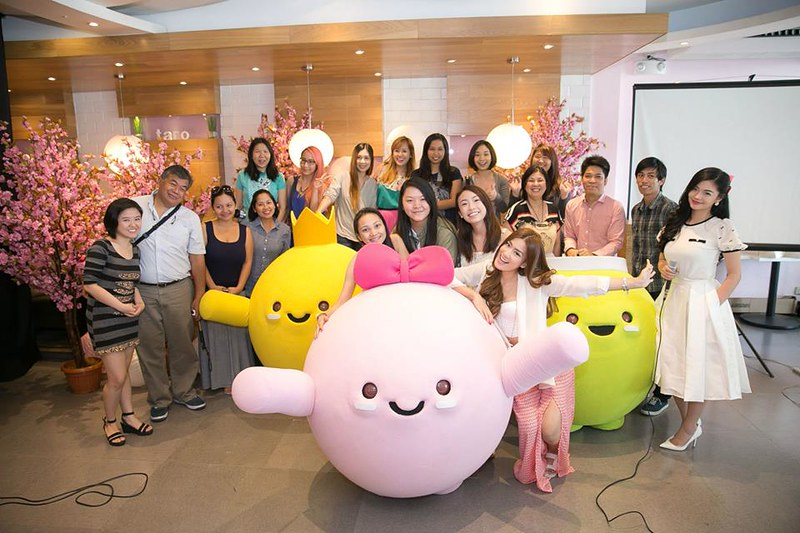 tokyo bubble tea mascots
