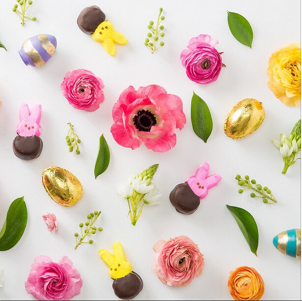 BloomThat pretty-Easter Egg cake truffles