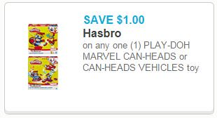 Play-Doh Marvel Can-Heads