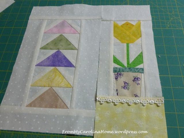 Spring Mini Quilt - 4