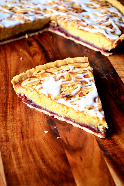 Cherry Bakewell Tart Recipe