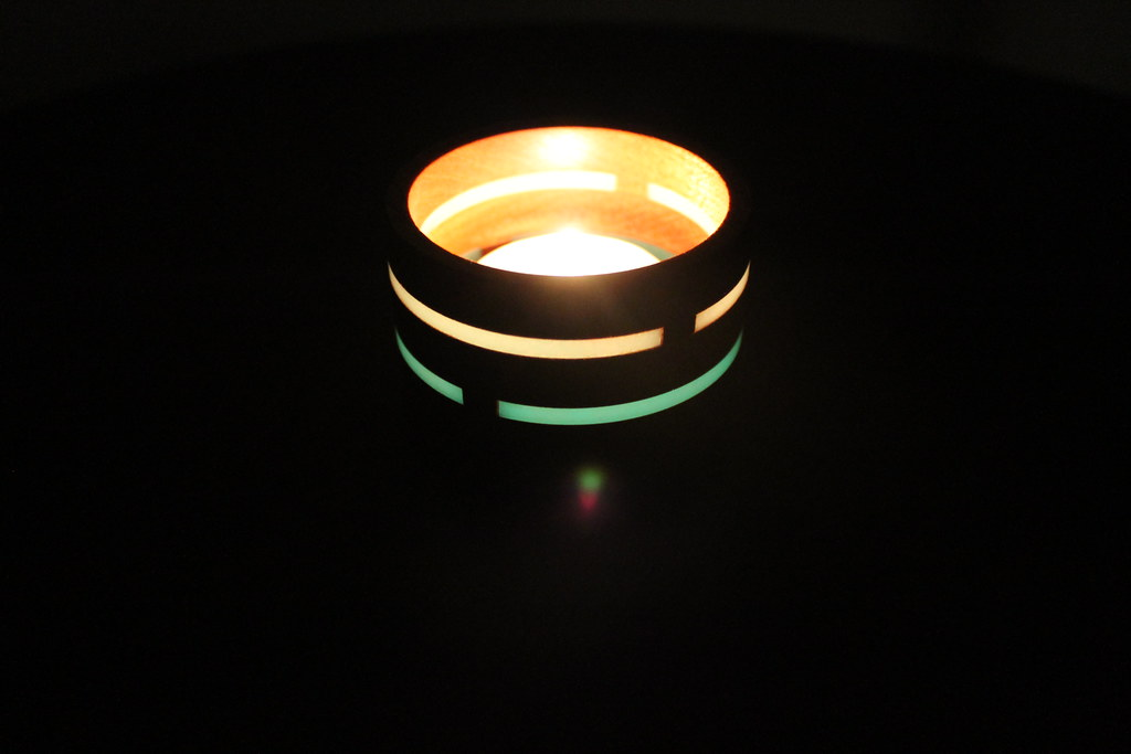 Glow in the Spark - Tea Light Holder