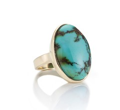 Turquoise 14k Ring