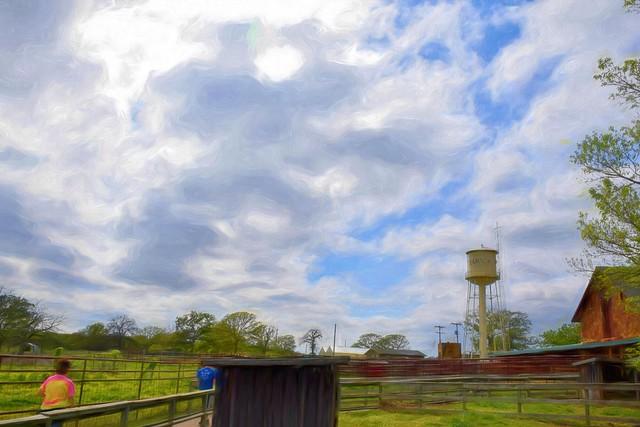Woolaroc Sky Impressions Swirly Strokes I 47pct