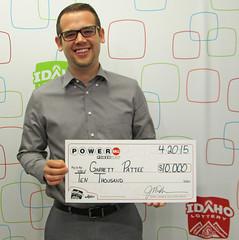Garrett Pattee - $10,000 PowerBall