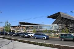 UW Station and Husky Stadium