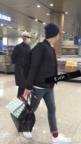 Big Bang - Incheon Airport - 31jan2015 - TOP - eMwTopxi - 02