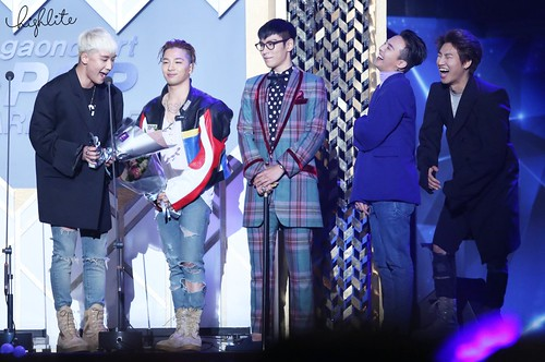 Big Bang - The 5th Gaon Char K-Pop Awards - 17feb2016 - High Lite - 21