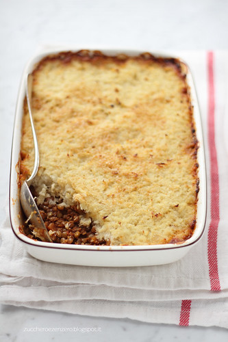 Hachis parmentier vegetariano