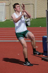 track and field athletics, jumping, sports, heptathlon, person, physical exercise, athlete,