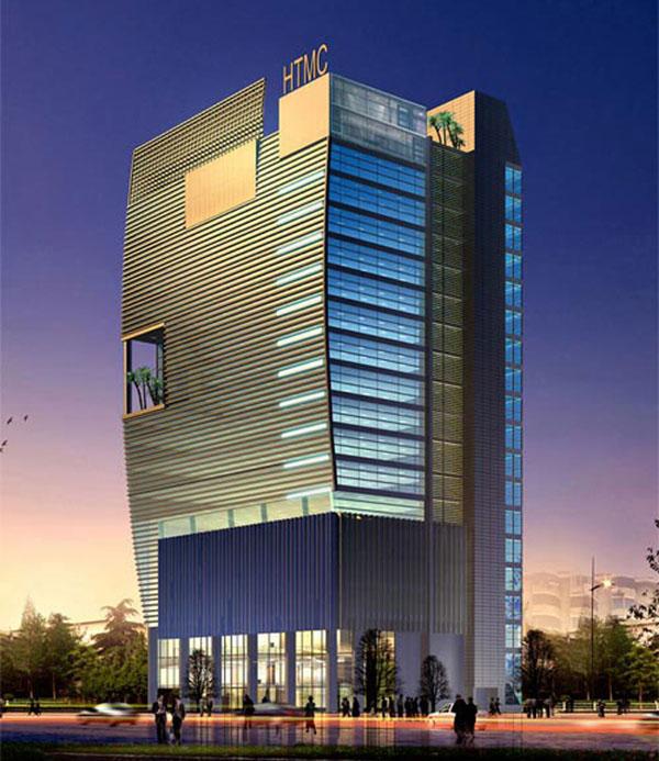 HMTC Office Building - Phong Cách Thiết Kế Kiến Trúc Quốc Tế