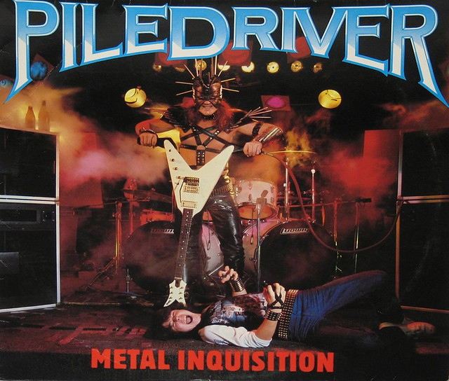 "PILEDRIVER - METAL INQUISITION 12"" VinyL LP"