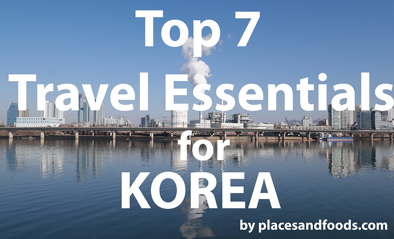 top 7 essentials for korea large