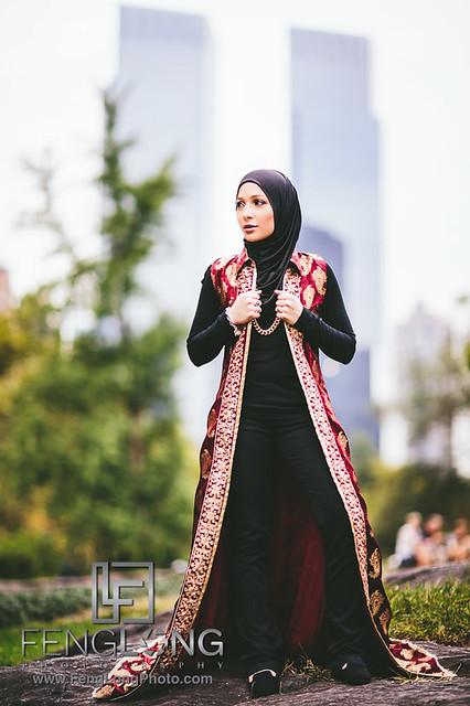 New York City Muslim Hijabi Fashion Photography