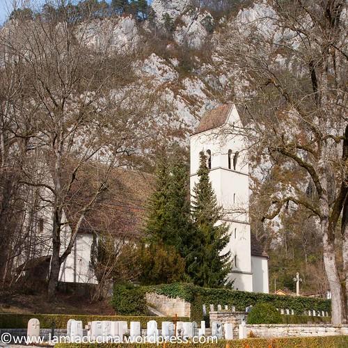"""CH-4710 Balsthal: Alte Kirche """"Unserer Lieben Frau"""", Friedhofskirche"""