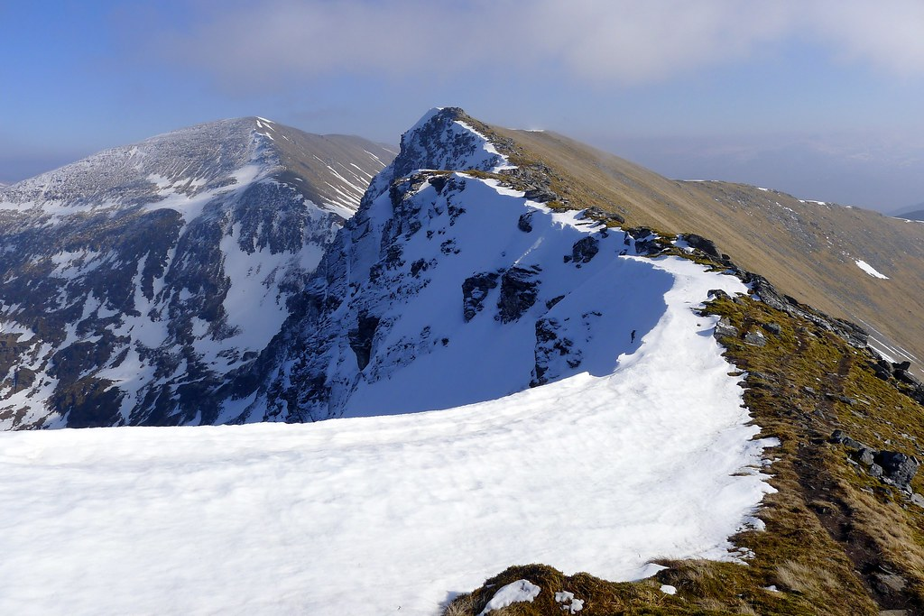 Summit ridge of Sgurr Choinnich