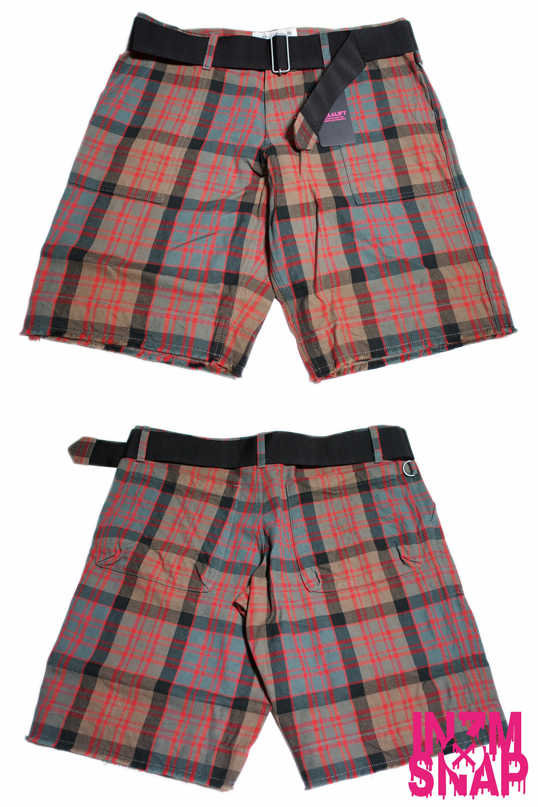 PEEL & LIFT | Tartan Army Shorts
