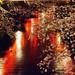 Sakura Blossoms with Merugo River