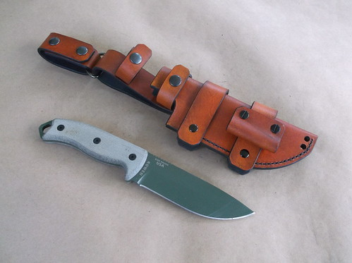 ESEE 5 dual carry dangler sheath