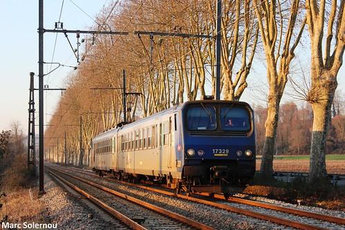 SNCF Z7329 - Orthez 29/12/2014