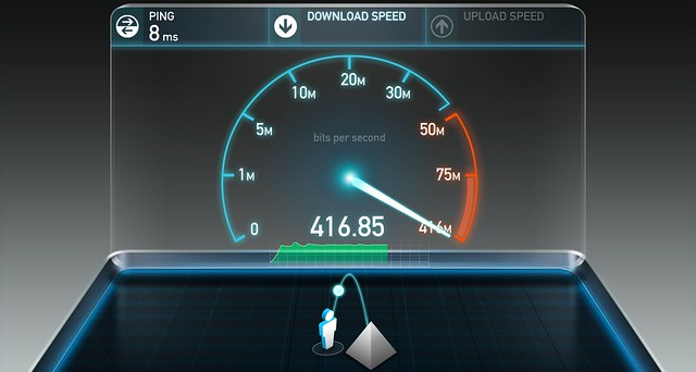 Moving into the fast lane for home internet