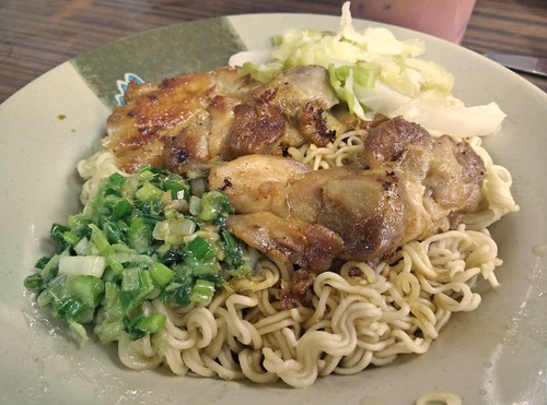 Chicken and Instant Noodles
