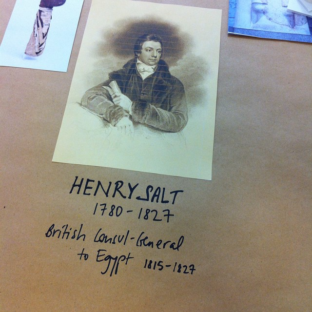Henry Salt sold 1,659 things to the British Museum.