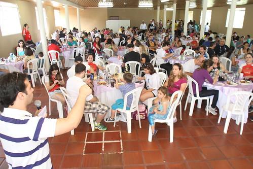 Churrasco dos Jornalistas: os trabalhadores fizeram uma grande festa