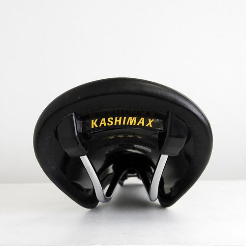 KASHIMAX / AERO LEATHER SADDLE / BLACK
