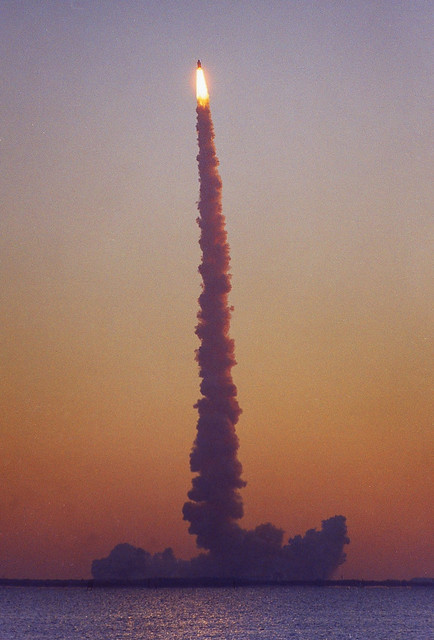 Breaking Dawn - STS-102