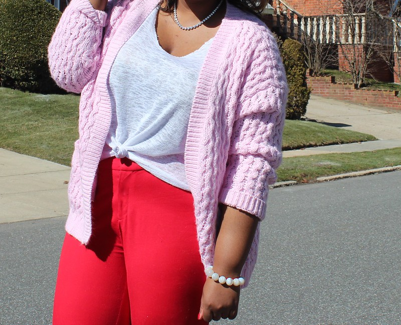 Slouchy+Pink+cardigan