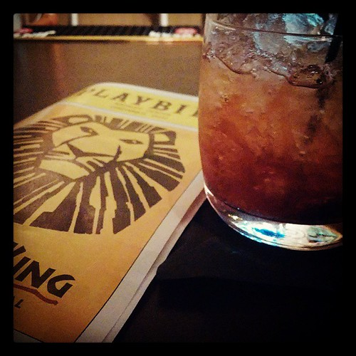 Post Lion King drinks at Horse & Barrel...