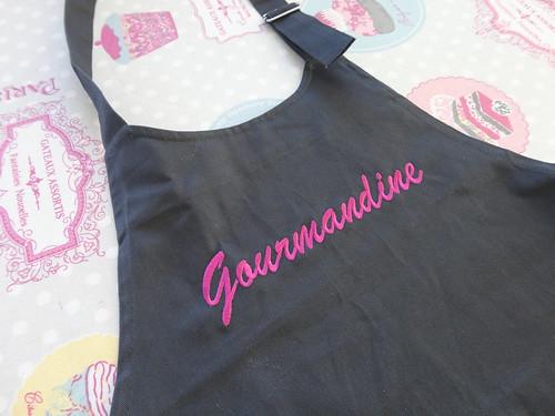 partenariat : manelli - fourchettes et pinceaux - Broderie Veste De Cuisine