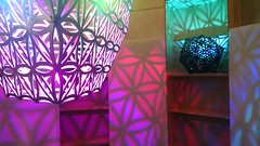 Rainbow tessellation room