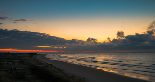 ocean sea seascape color beach water clouds sunrise dawn shoreline southcarolina impression d800 pawleysisland nikond800 littletinperson