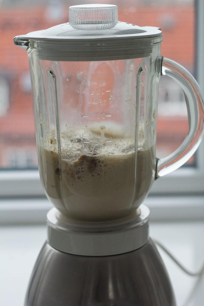 COpskrift på hjemmelavet Chai shake - sund milkshake