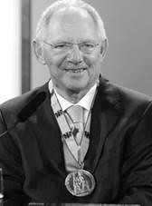 Schäuble  Charlemagne Prize