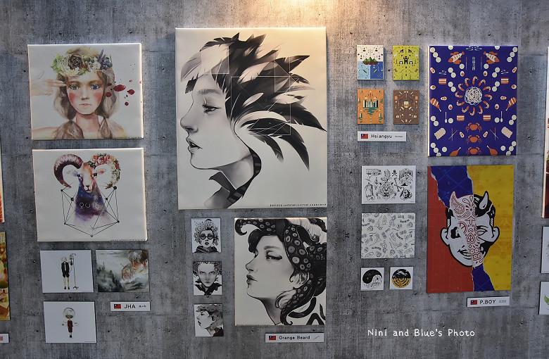 台中後火車站舊酒廠王畫創意園區2016插畫展20