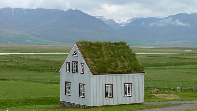 ferme  musée de Glaumbaer - Islande