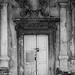 Exterior door at Pidhirtsi Castle